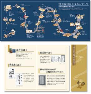 揖保乃糸資料館 そうめんの里/グラフィックパネル